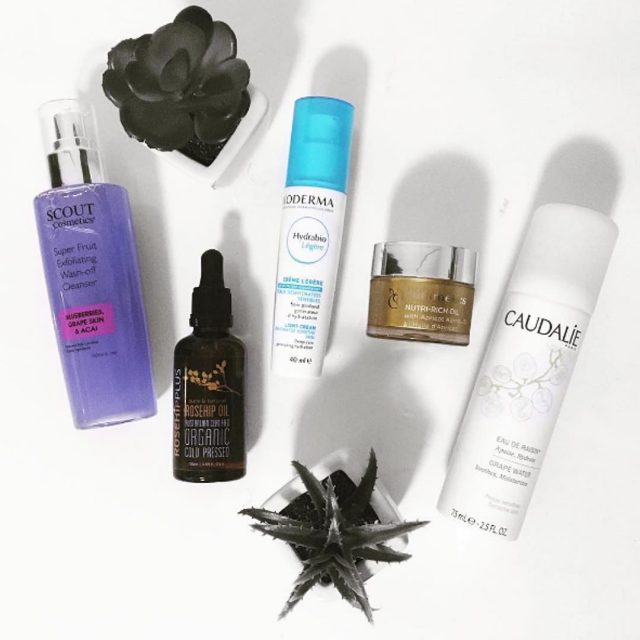 Friday evening skincare line up with thecaryledit and our Australianhellip